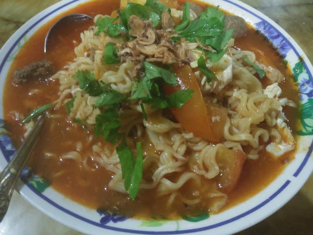 Mee / Maggi Kuah Daging