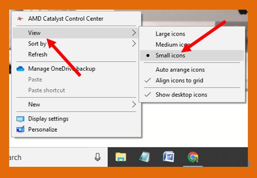 Cara Mengecilkan Icon Desktop Pada Windows 10 Cometsoul