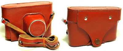 Hard Leather Case for Fed 5 35mm Film Camera
