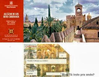 entradas das atrações em Córdoba