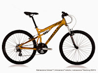 Sepeda Gunung United Command FX73 (3) Full Suspension 21 Speed 26 Inci