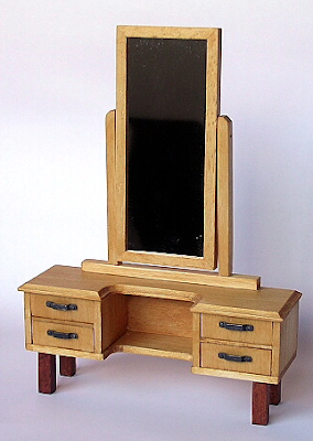 miniature dressing table