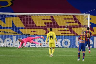 ملخص واهداف مباراة برشلونة وفياريال (4-0) الدوري الاسباني
