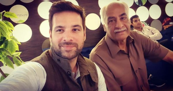 Actor Mikaal Zulfiqar Awesome Pictures with Family