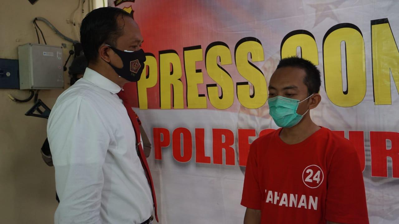 Satu Lagi, Penjual Obat Terlarang di Kecamatan Rembang Ditangkap Polisi
