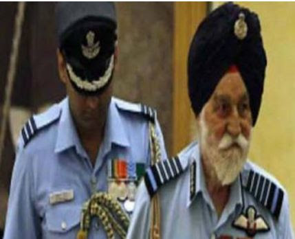 One more freedom icon is no more...Arjan Singh, first Indian Air Chief marshal passed away