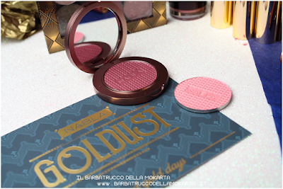 HARPER   satellite of love Blush Blossom   goldust collection Nabla cosmetics