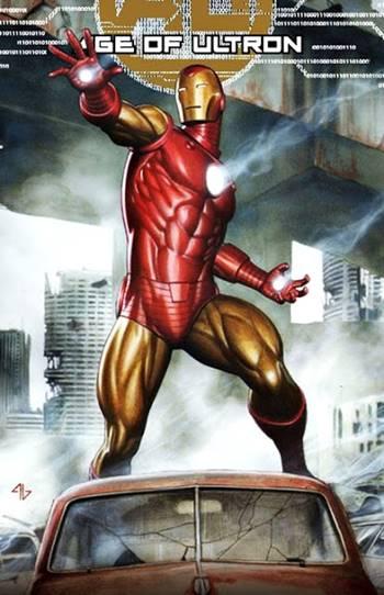 Armadura de Iron Man en los cómics Marvel