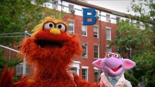Murray and Dr. Ovejita introduces the letter B. Sesame Street Episode 4417 Grandparents Celebration season 44