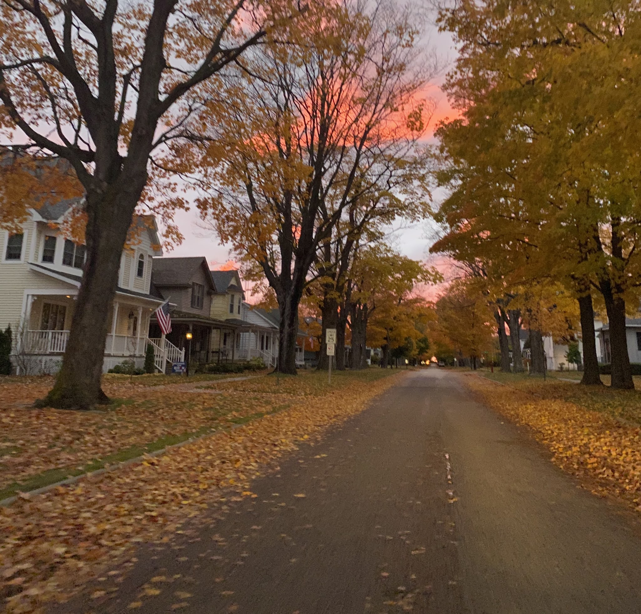 Frankfort Michigan in the Fall | biblio-style.com