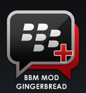 BBM Mod Gingerbread 2.3 Transparan APK Terbaru (Clone)