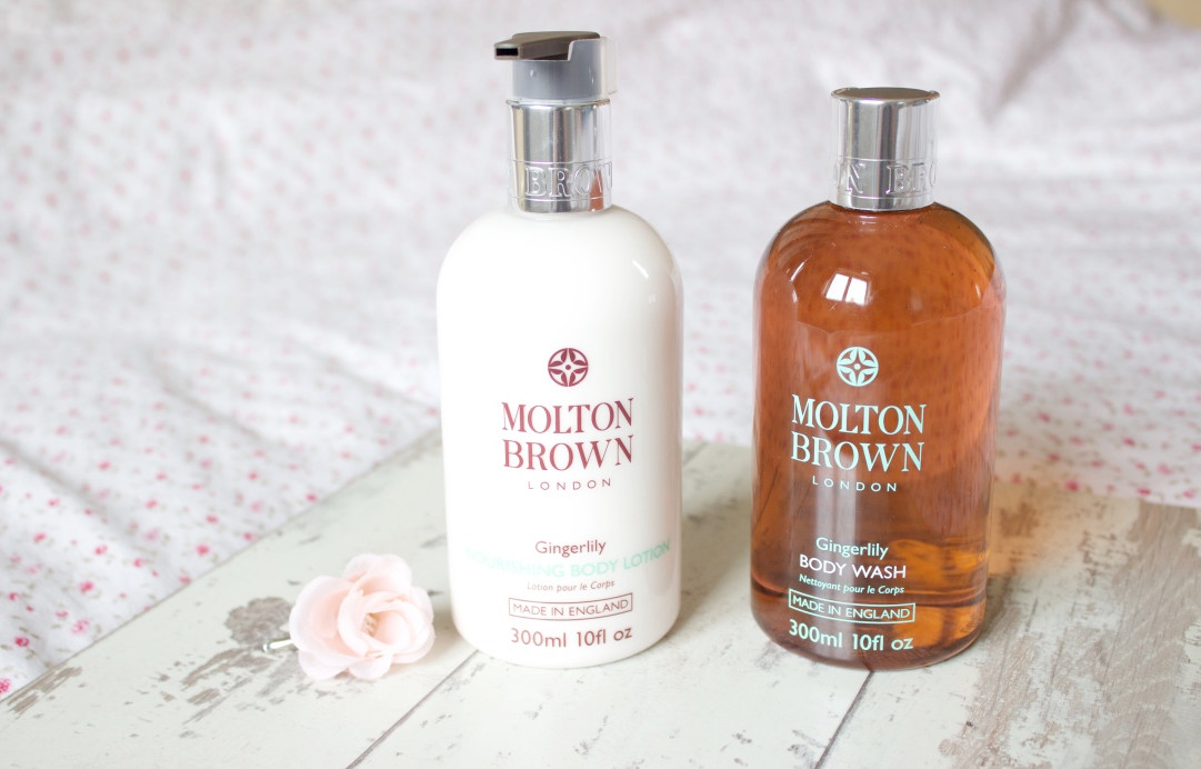 Molton Brown Heavenly Gingerlily Collection