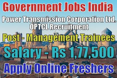 OPTCL Recruitment 2018