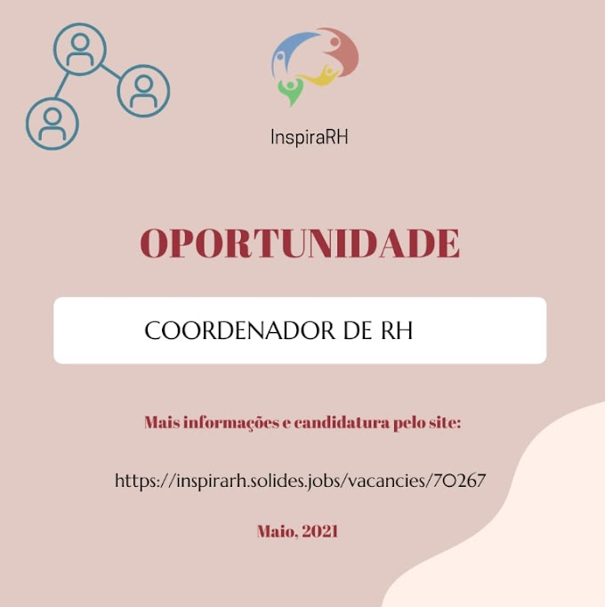 COORDENADOR DE RH