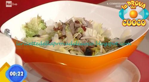 Insalata fredda di scottona ricetta Salvatori da Prova del Cuoco