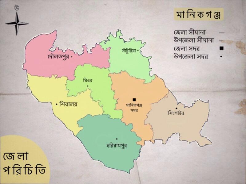 মানিকগঞ্জ জেলা পরিচিতি