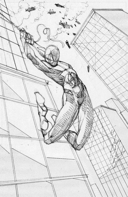 .: Spider-Man Processes 2: Pencils
