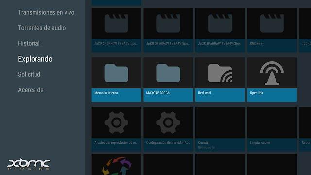 Descarga ACESTREAM MOD tvbox android tv