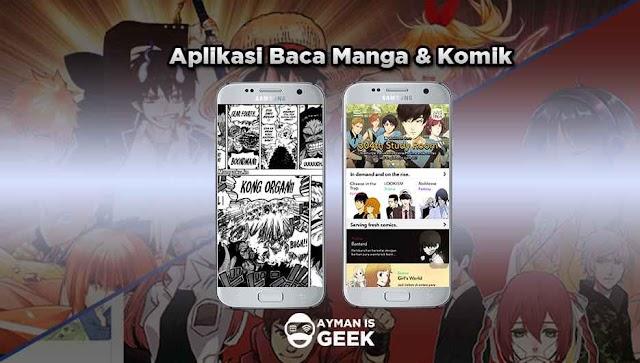 5 Aplikasi Baca Manga dan Komik Terbaik dan Terbaru Gratis dan Berbayar