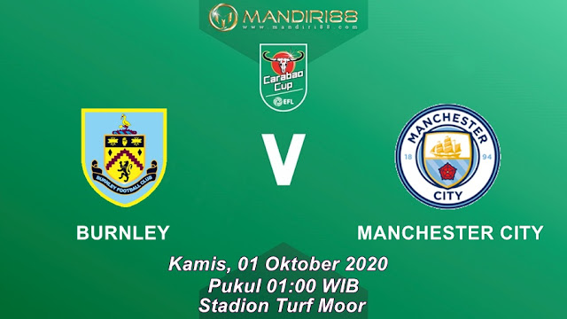 Prediksi Burnley Vs Manchester City, Kamis 01 Oktober 2020 Pukul 01.00 WIB @ Mola TV