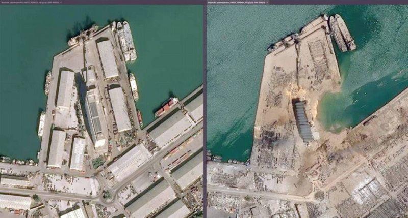 Negligencia de un barco y del puerto originaron la tragedia de Beirut