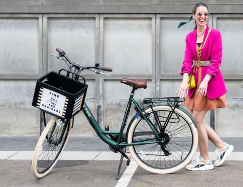 Eigen persoonlijke fietskrat ontwerpen