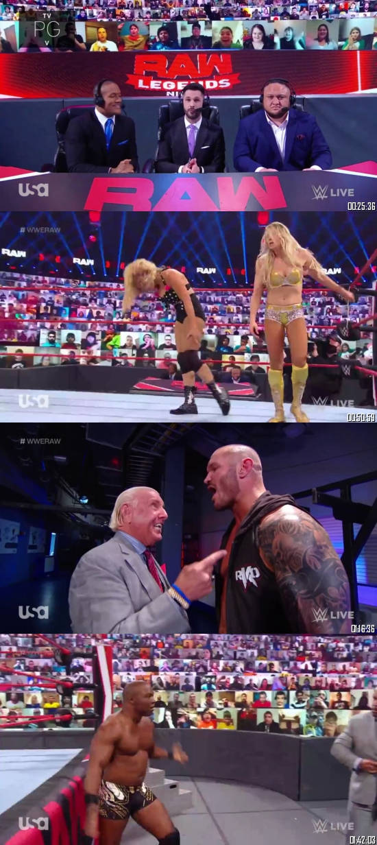 WWE Monday Night Raw 04 January 2021 HDTV 720p 480p 500MB