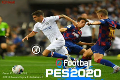 Patch PES 2019 Mobile v.3.3.1 Cover PULISIC By 31ST PATCH