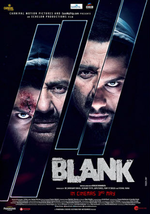 Blank 2019 Full Hindi Movie Download HDRip 720p