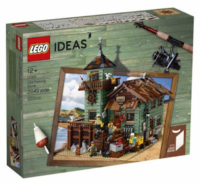 LEGO Ideas - 21310 Antigua Tienda de Pesca   Juego de construcción 2017   CAJA JUGUETE