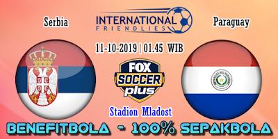 Prediksi Serbia vs Paraguay – 11 Oktober 2019