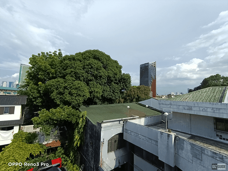 Rear camera Daylight ultra-wide
