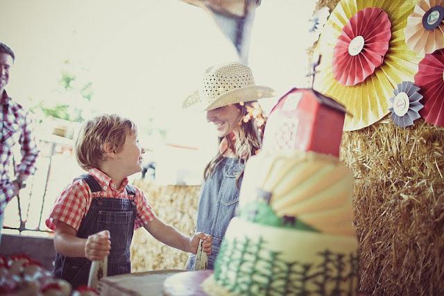 Kara S Party Ideas Down On The Farm 3rd Birthday Party