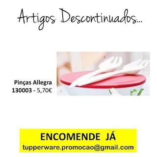 130003 - Pinças Allegra tupperware