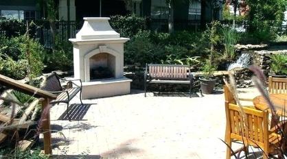 Backyard Fireplace Design Ideas (Places Ideas - www.places-ideas.com)