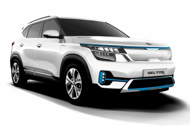 Phiên bản xe điện của Kia Seltos sẽ bán ra từ cuối năm nay