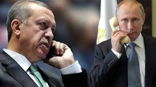 أردوغان وبوتين يبحثان أوضاع إدلب..وبيان للرئاسة الروسية