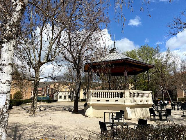 Qué hacer en Sigüenza Parque de la Alameda