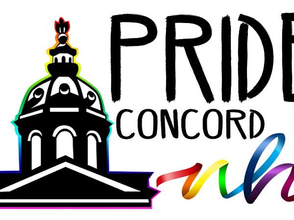 SATURDAY, JUNE 5, 2021 - Pride Concord NH 2021 Online Event