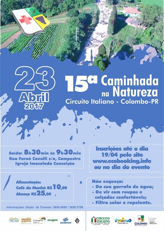 Vem aí a 15ª Caminhada Internacional na Natureza do Circuito Italiano de Turismo Rural