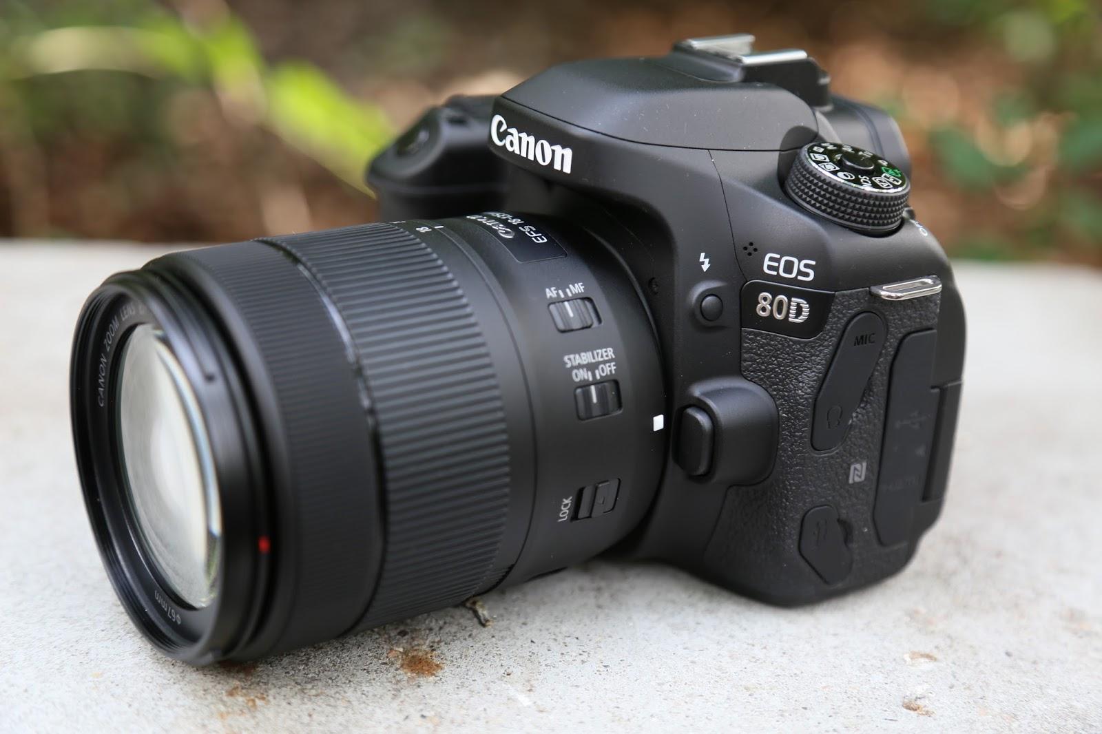 Canon vs Nikon - Mid-range battle: 80D vs D7500