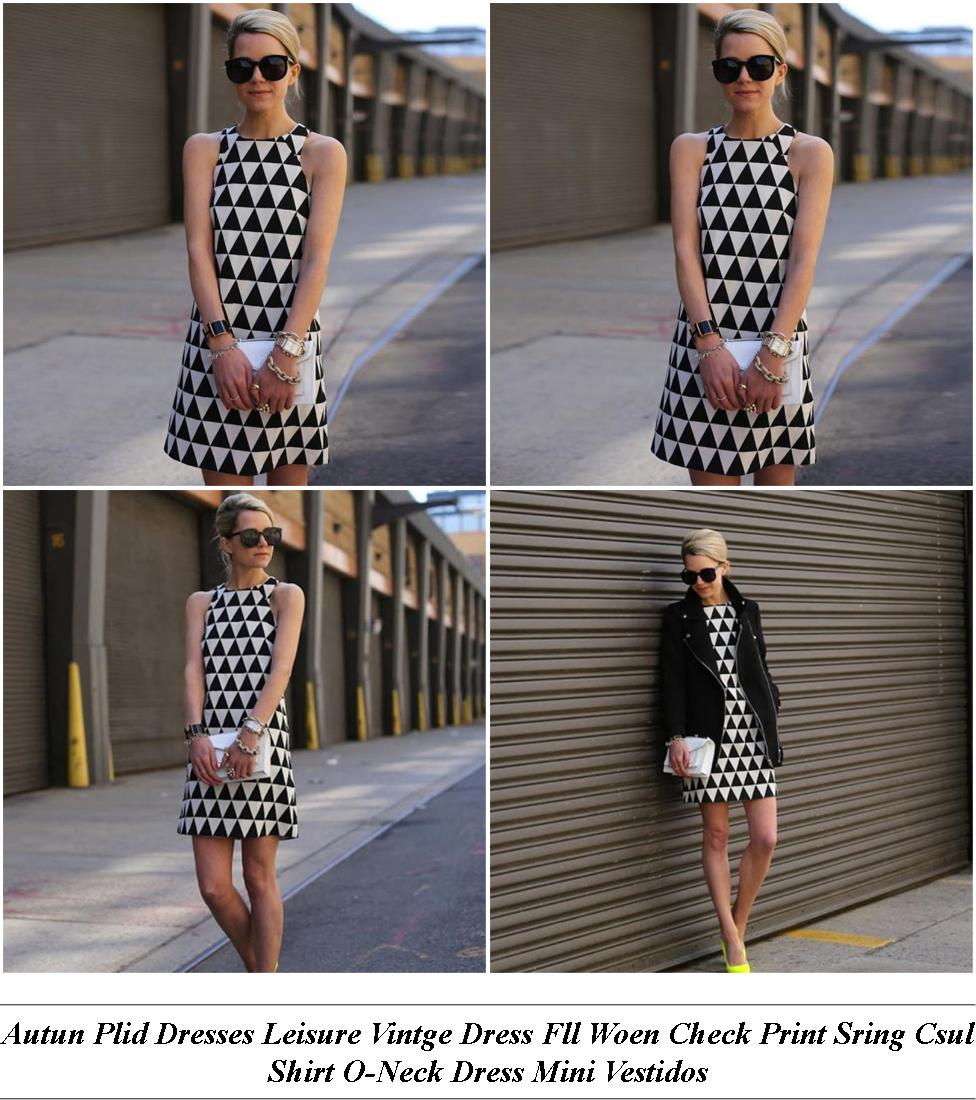Lack Lace Off The Shoulder Midi Dress - Takko Fashion Online Shop - Cheap Short Spring Formal Dresses