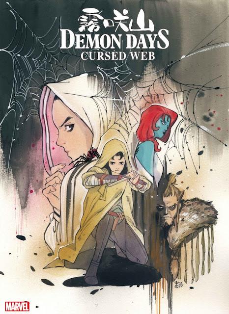 Un primer vistazo al cómic Demon Days: Cursed Web #1 de Marvel.