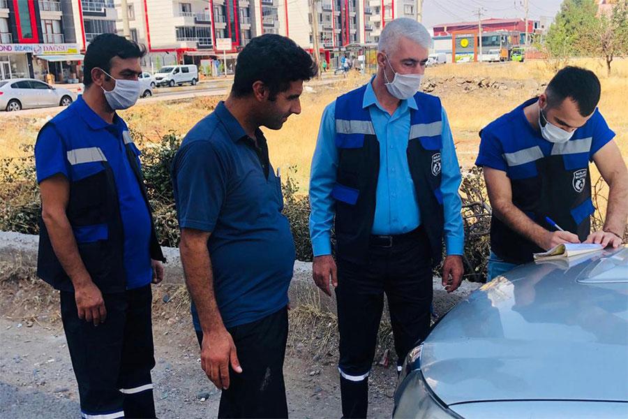Diyarbakır Bağlar Belediyesi çevre koruma ekibi kurdu
