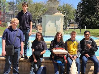 Montgomery Catholic Places at Alabama Statewide Math Tournament 1
