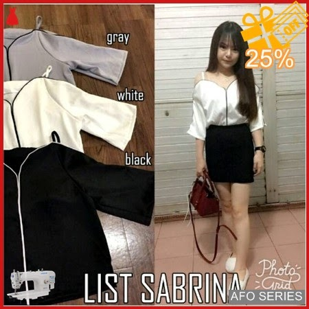 AFO124 Model Fashion List Sabrina Modis Murah BMGShop