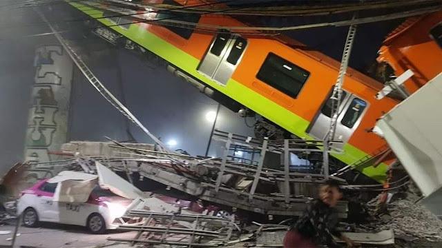 Una trabe se venció: Sheinbaum, tras accidente de la estación Olivos de la Linea12