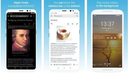 Tarihi Havadis: Kiwi Browser - Fast & Quiet (Mod) vDelta B51 APK indir