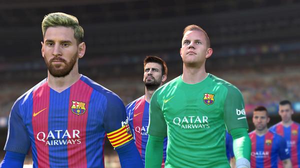 اللعبة بها اخر التحديثات مثل وجه ميسي الاشقر واحدث انتقالات الفرق الموجوده في النسخة .