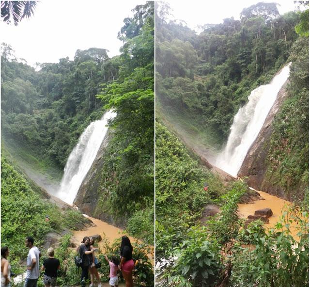 O que ver e fazer em Santa Leopoldina (ES) - Parque Cachoeira Véu de Noiva
